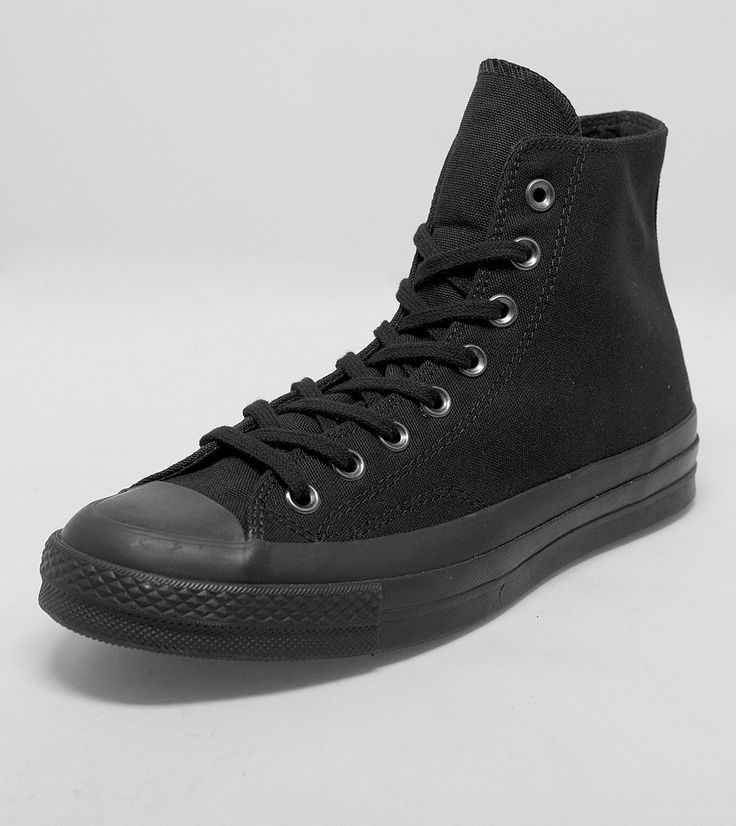 Mens Footwear 2016 Black Converse Chuck Taylor All Star 70 Hi Mono 189744_0.jpg (1780×2000)