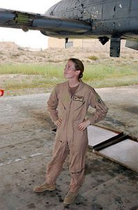 Kim Nichole Reed-Campbell (born June 6, 1975 in Honolulu, Hawaii)[1] is an officer and Senior Pilot in the U.S. Air Force. She was decorated for piloting her A-10 Thunderbolt II back to base in southern Iraq after taking heavy anti-aircraft artillery (AAA) damage in aerial combat over Baghdad during Operation Iraqi Freedom. Daughter of the mayor of San Jose (and former USAF Captain) Chuck Reed, Campbell joined the Civil Air Patrol as a cadet at age 13 and made her first solo flight i