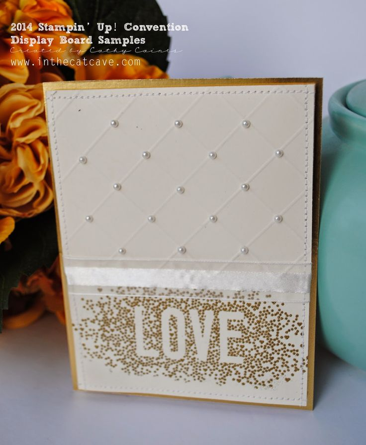 Convention Display Boards | Scattered Love by Cathy Caines @stampinup
