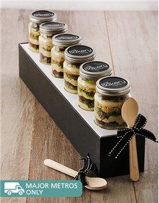 Cakes and Cupcakes - Cupcake Jars: 6 Peppermint Crisp Cupcakes in a Jar!