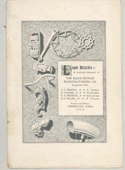 1897 Eagle Bicycle Brochure Torrington Connecticut wt3996