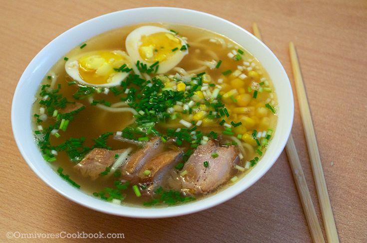 Tonkotsu Ramen - Ramen Making Chapter 4 - Omnivore's Cookbook