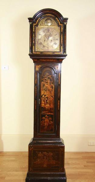 Chinoiserie Grandfather clock.