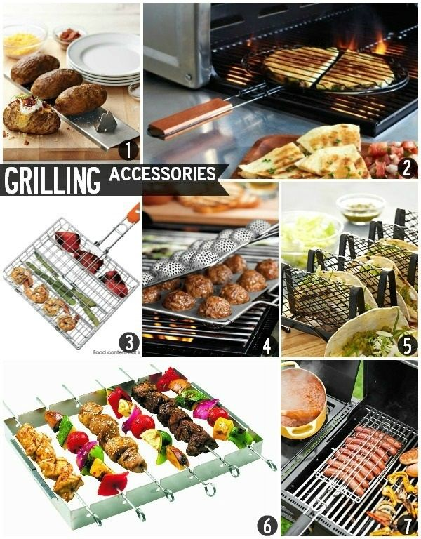 We tend to think the best accessory is a beautiful cut of beef, but these will help with the finer points: Seven Awesome Memorial Day Grill Accessories