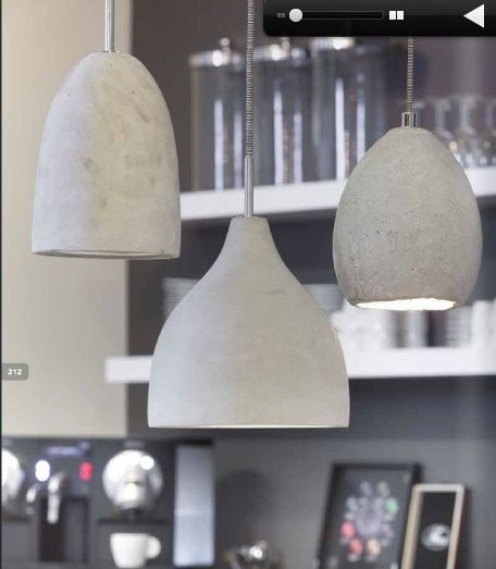 Hanglamp beton on pinterest discover the best trending interior porn ideas and more - Pinterest beton ...