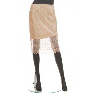 Gosia Strojek - spódnica z siatki