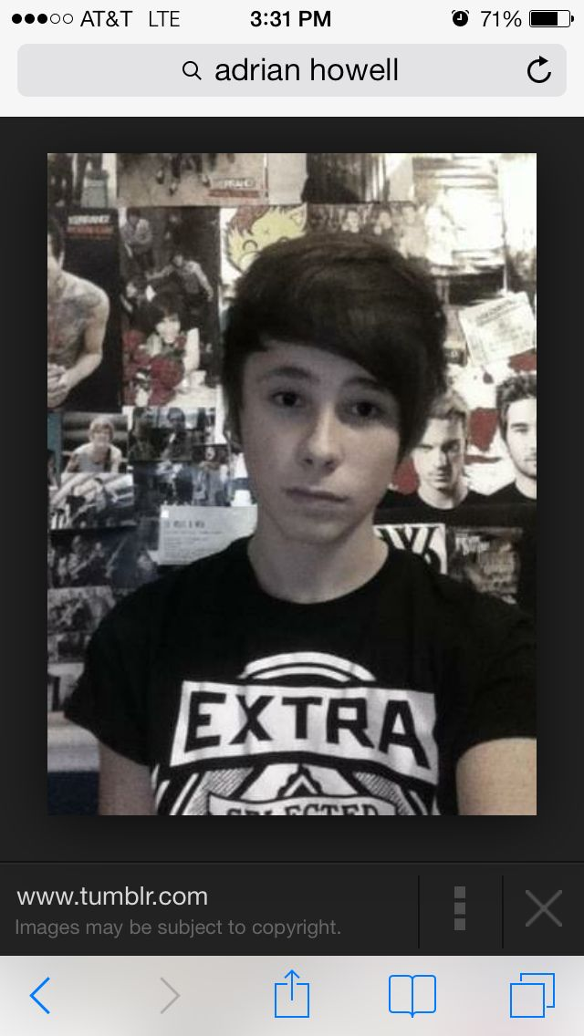 look who i found on google its dans little brother adrian