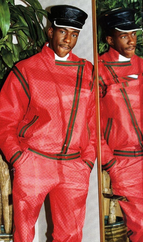 Bobby Brown wearing Dapper Dan| Hip hop fashion through the years