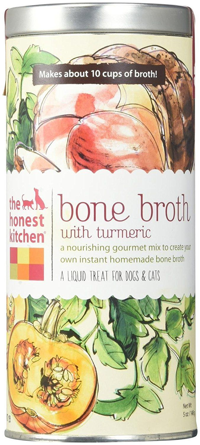 The Honest Kitchen Beef Bone Broth with Turmeric Canister