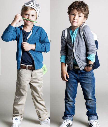 love this style for little boys.
