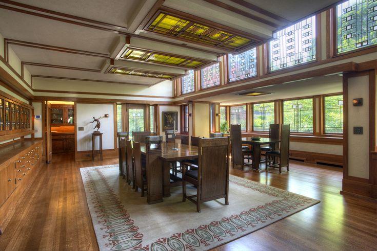 Boyton House , Frank Lloyd Wright, Rochester, NY