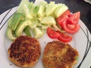 Crunchy Polenta Tuna Patties in the BIKM