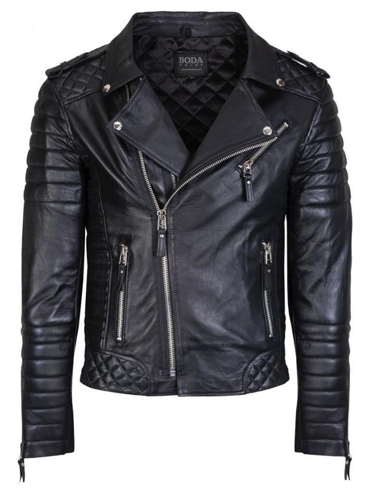 Mens leather biker jackets
