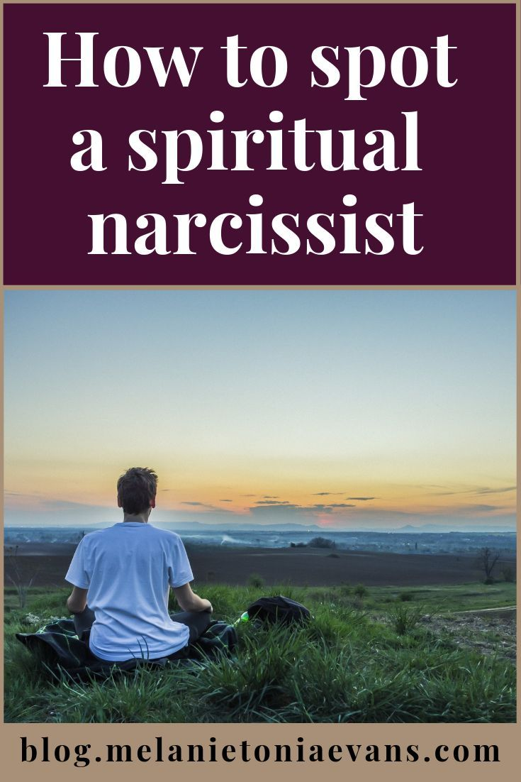 How To Spot A Spiritual Narcissist | Therapy ideas