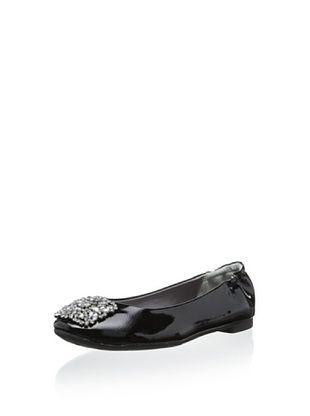 34% OFF Adrienne Vittadini Footwear Women's Sapphire Flat (Black Patent)