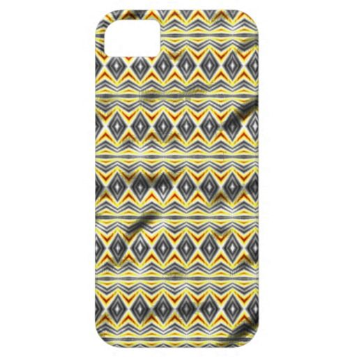 Tribal crumpled pattern cover for iPhone 5/5S