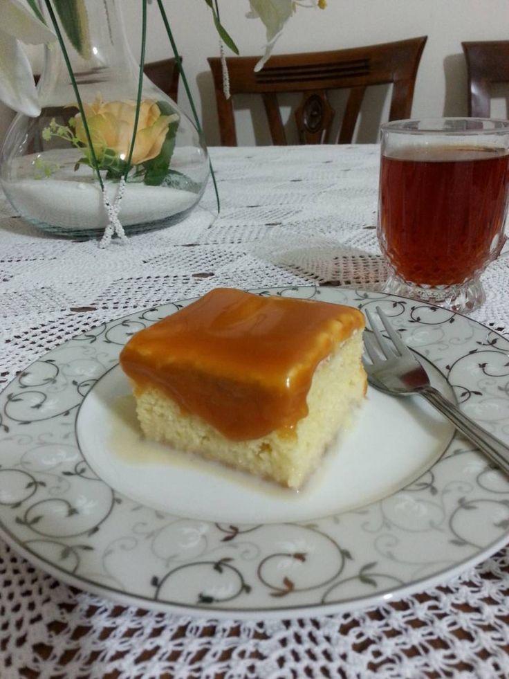Cecilia isimli Mutfağımızdan Trileçe;   Bir tepsi fiyatı 40 TL'dir. Kare borcama yaptığım tatlı görseldeki boyutta dilimlendiğinde 16 dilim çıkmaktadır. Ankara içi eve teslim fiyattır…