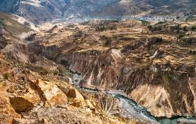 The Colca Canyon i said to be twice as deep as the Grand Canyon which you will see in one of our Luxury Peru Tours.
