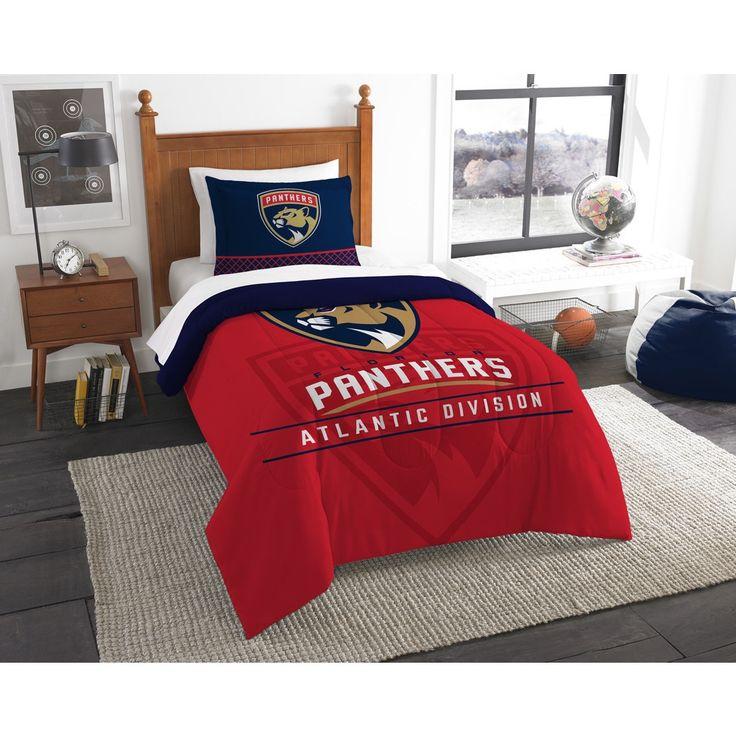 The Northwest Company NHL 86201 Fl Panthers Draft 2-piece Comforter Set