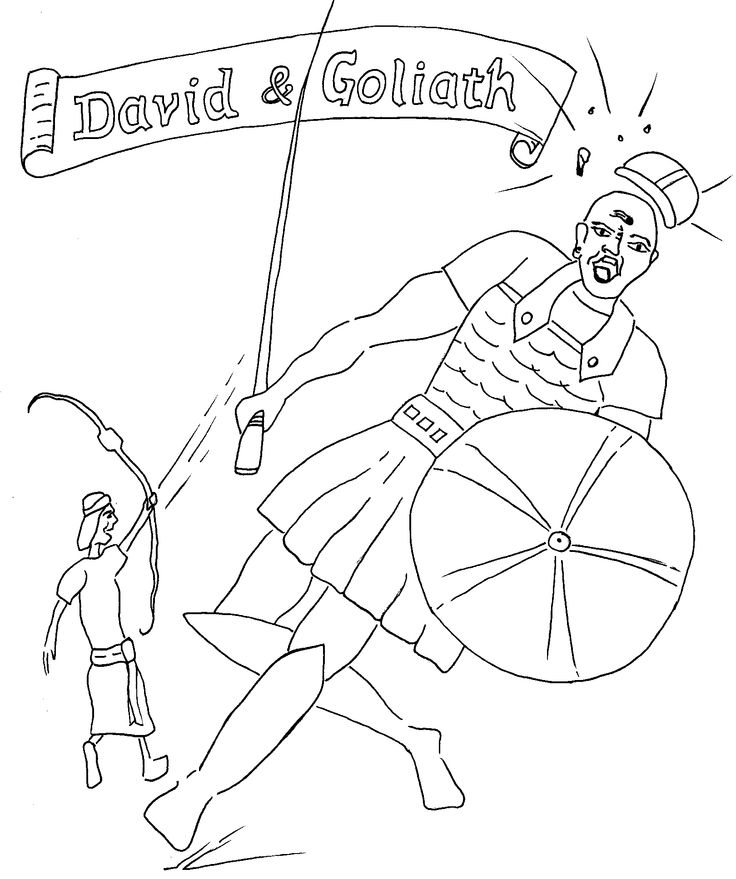 david coloring pages bible abc - photo#11