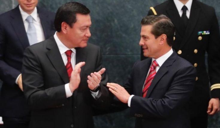 Osorio Chong sale del gabinete de Peña Nieto