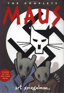 Just finished reading my first ever graphic novel, Maus. Incredible story. Who knew a graphic novel could be so powerful?!