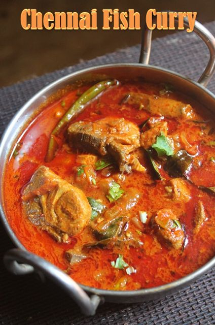 YUMMY TUMMY: Madras Fish Curry Recipe - Chennai Fish Curry Recipe