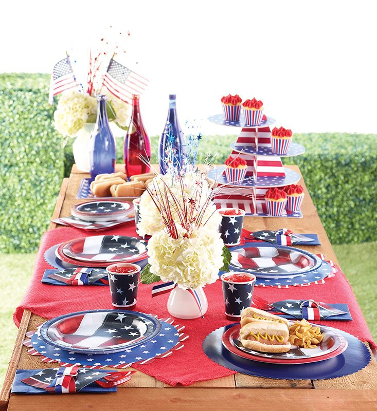 Party Decorations Table Centerpieces: 116 Best Images About Patriotic Themed Parties! On
