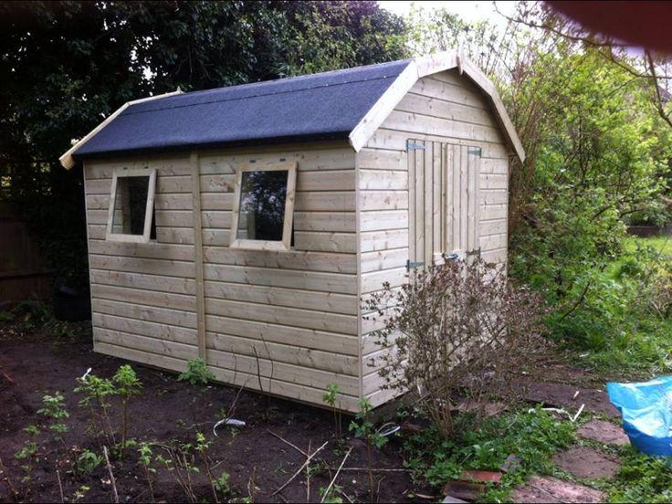 DIY Garden Shed, Dutch Barn, workshop from Sheds Direct