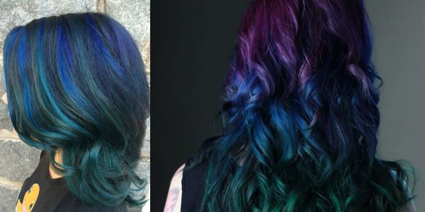 Experience peacock beauty on your hair! Υπέροχα μαλλιά στις όμορφες αποχρώσεις του παγωνιού!