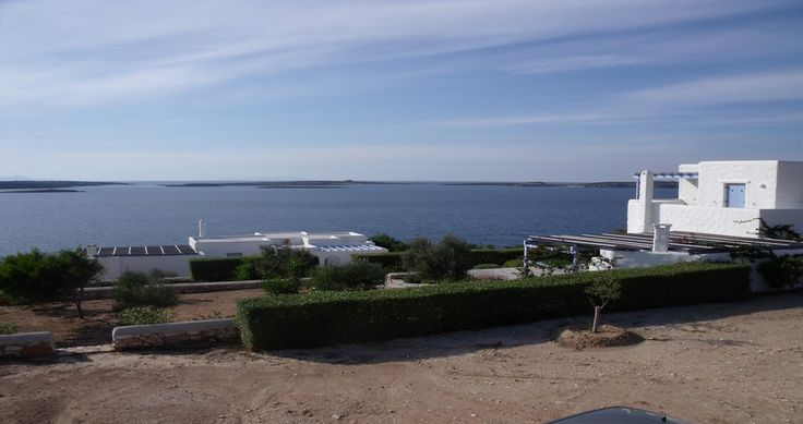 "Discover Villa ""Elia"", Paros, Greece ! You can rent it ! #luxury #villa #rent #holidays #greece #vacances #grece #alouer #aroomwithaview #sea #bedroom #decoration #swimmingpool #beautiful #sunset #luxuryvilla"