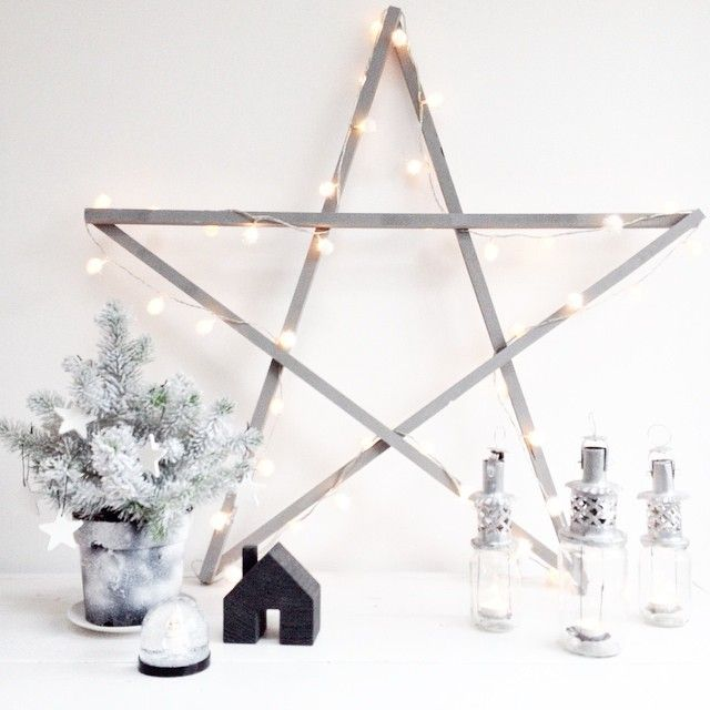 ster lichtjes kerst | christmas lights star