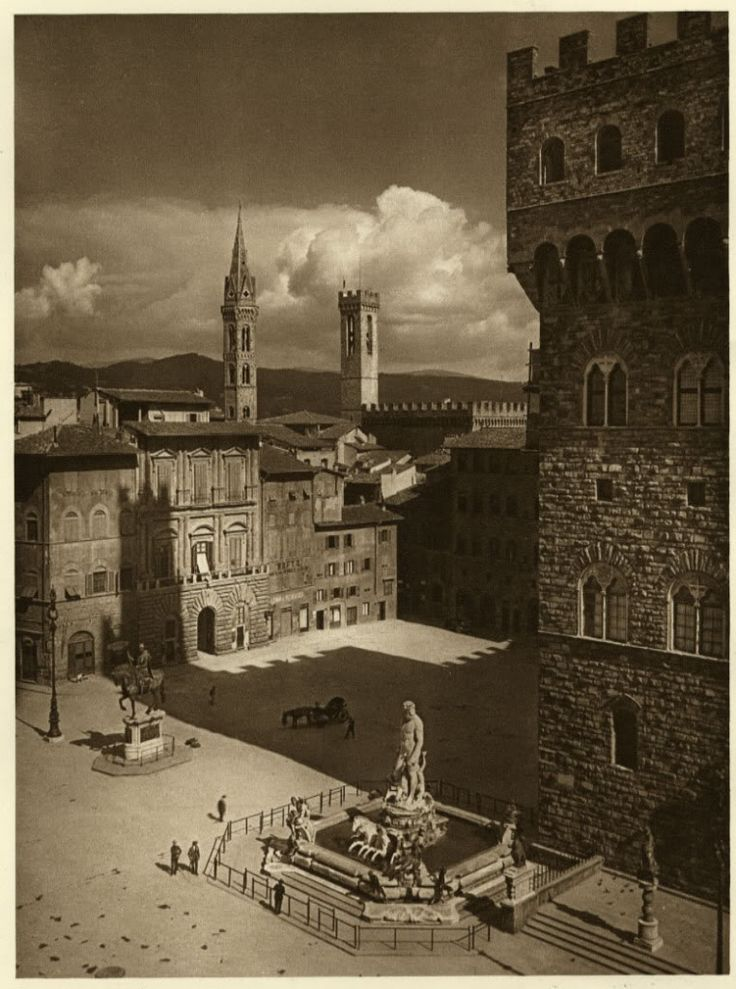 Florence City View, Italy, 1920s