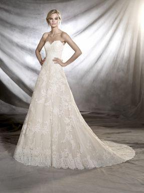 Svatební šaty Pronovias 2017 ve svatebním domě NUANCE. Model Onia.