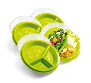 Dietitian-designed portion control containers.