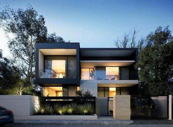 20 Spectacular Modern Houses To Go Crazy About Minimalist House Design House Front Design House Designs Exterior