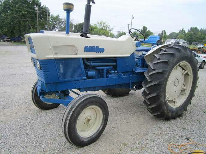 Ford 6000 Diesel Tractor : Ford commander tractors autos post