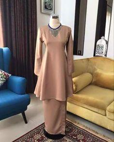 Baju Kurung : DIY Baju Kurung Moden Princess Cut