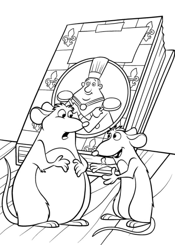 coloring pages ratatouille - photo#4