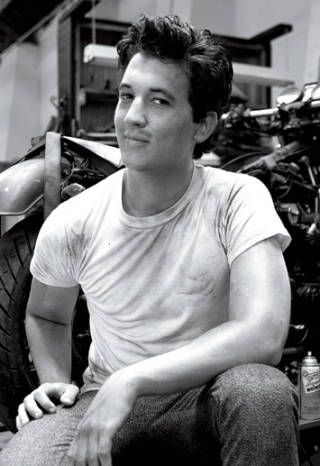 Miles Teller. There's just something really attractive about this guy!