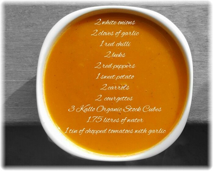 Soup for lunch! #HealthyLiving #SoupRecipe