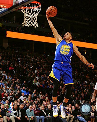 """Stephen Curry Golden State Warriors 2015-2016 NBA Action Photo (Size: 8"""" x 10""""). Exhibition Quality 8"""" x 10"""" Photograph. Professionally Produced in State of the Art Photographic Lab. Fully Licensed NBA Collectible. Uniquely Numbered NBA Licensing Hologram Attached."""