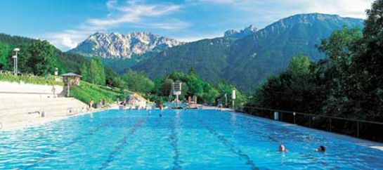 Schwimmbad im Allgäu