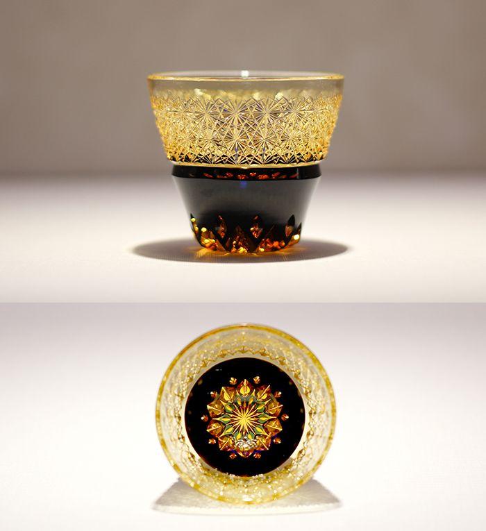 クリスタルガラスを楽しむ:「伝統工芸士 但野英芳氏 作品展」のご紹介 | カガミクリスタル