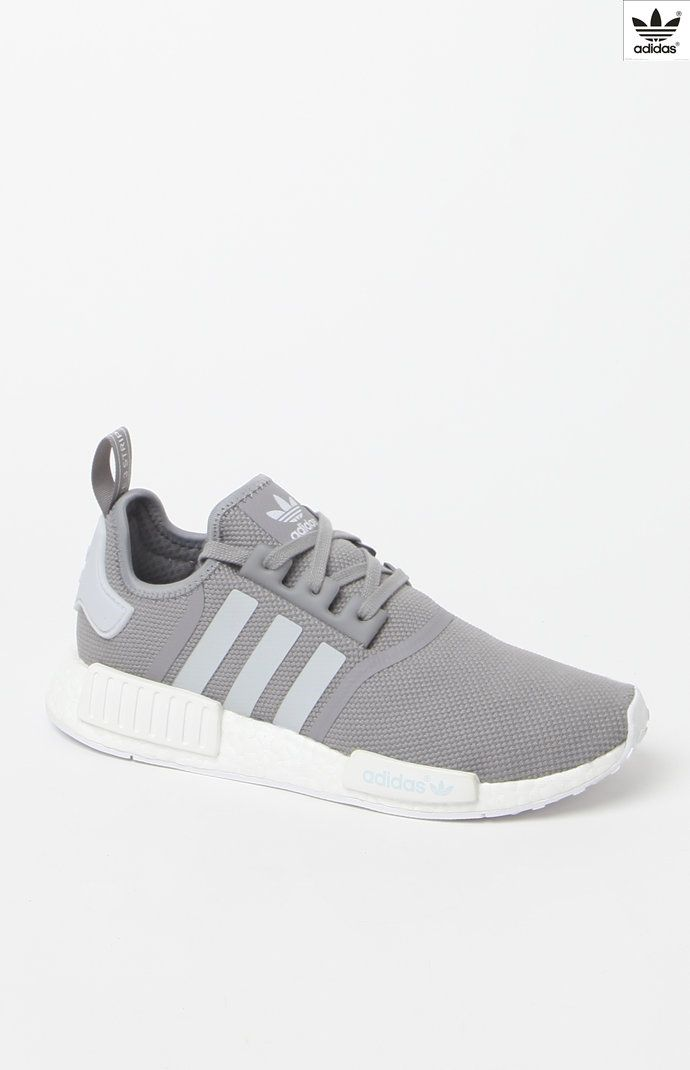 7ba9b513558a9 NMD R1 Grey   White Shoes twitter.com ...