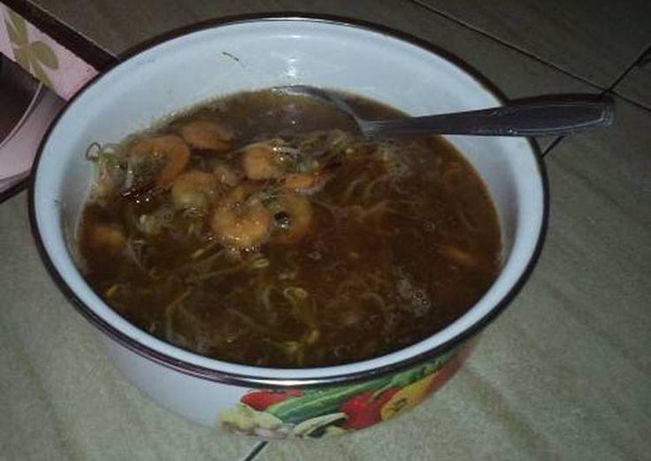 Resep Sup udang taoge