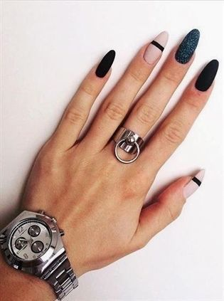 """61 Most Fashionable Almond Matte Nails Thought for Fall and Winter . ❖ #almondnais ❖ #mattenails ❖ #nails ❖ #nailsdesign ❖ #trendynails ❖❖❖ Each woman must handle herself. Whether or not it's gown, make-up, or coiffure. As a result of """"You solely stay as soon as, however in case you do it proper, as soon as is sufficient, and also you received't remorse. ❀""""❖ #GelNailsIdeasForFall #BeautyDiyFace – Magnificence Diy Face"""