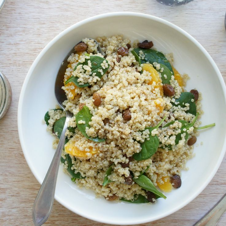 Try this Quinoa Salad with Balsamic Maple Dressing by massagemum 😋