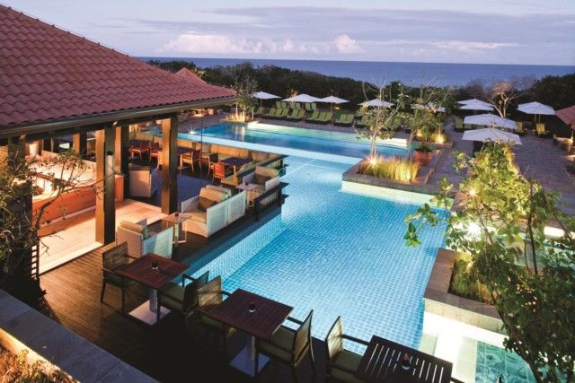 Pool area -The Fairmont Zimbali Resort. Quote & book http://www.south-african-hotels.com/hotels/fairmont-zimbali-resort/