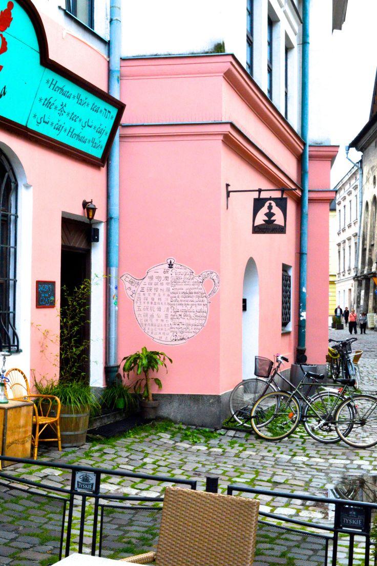 Petite rue super mignonne de Cracovie                                                                                                                                                     Plus